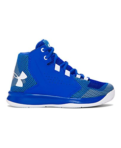 Under Armour Boys' Pre-School UA Torch Fade Basketball Shoes 13 Little Kid M ULTRA BLUE
