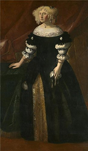 The Perfect Effect Canvas Of Oil Painting 'Justus Sustermans - Portrait Of A Lady, 17th Century' ,size: 8x14 Inch / 20x35 Cm ,this High Resolution Art Decorative Prints On Canvas Is Fit For Living Room Decoration And Home Gallery Art And Gifts