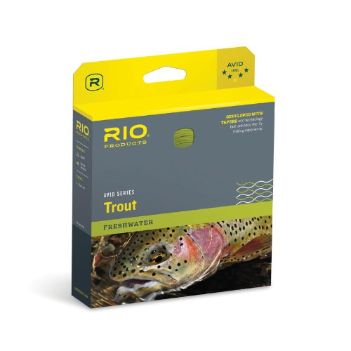 RIO Products Fly Line Avid Trout Wf3F Pale Yellow, Pale-Yellow