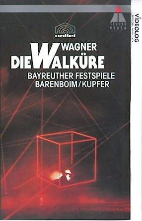 Wagner Die Walkure Vhs 1992 Amazon Co Uk Poul Elming