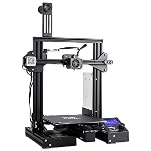 "Comgrow Creality Ender 3 Pro 3D Printer with Upgrade Cmagnet Build Surface Plate and UL Certified Power Supply 8.6"" x 8.6"" x 9.8"" by Creality 3D"