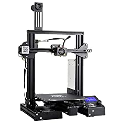 Ender 3 Pro Machine Parameter: Modeling Technology: FDM (Fused Deposition Modeling) Power Supply: UL certified power supply Printing Size: 220*220*250mm / 8.6x8.6x9.8 inches  Machine Size: 440*410*465mm / 17.3x16.1x18.3 inches  Package weight...