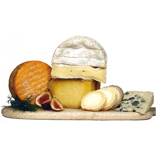 French Cheese Sampler Board - 5 French cheeses