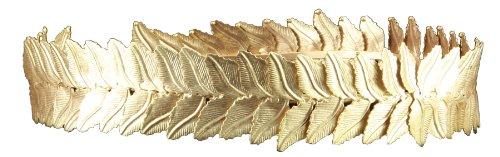 Elope Women's Gold Peak Circlet Sexy Regal Gold Circlet with Adjustable Chain (Circlet Crown)