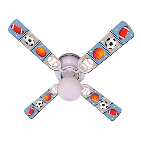Ceiling fan designers kids play ball indoor ceiling fan sports ceiling fan designers kids play ball indoor ceiling fan mozeypictures Image collections