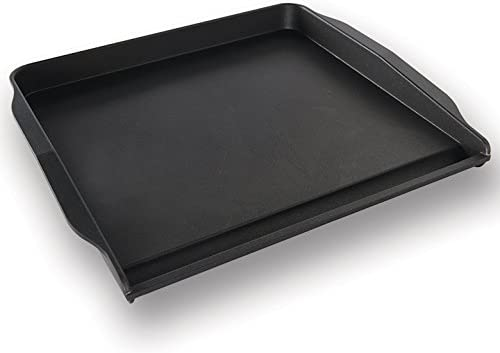 Nordic Ware 19660 Stovetop Backsplash Griddle, 14 x 12 , Black