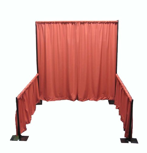 Portable Tradeshow Booth (Pipe and Drape) (No Drapes- Framework Only) by OnlineEEI