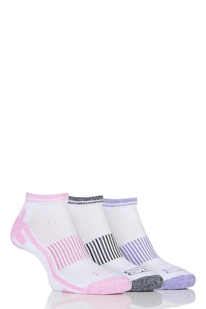Ladies 3 Pair Storm Bloc Trainer Socks SBLS010