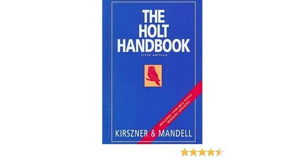 Handbook holt indexed infotrac thumb