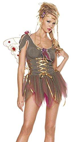 Sexy Garden Fairy Costume (Size:Medium/Large (Leg Avenue Garden)