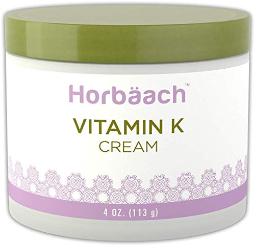 Horbaach Vitamin K Cream 4 oz | Premium Formula