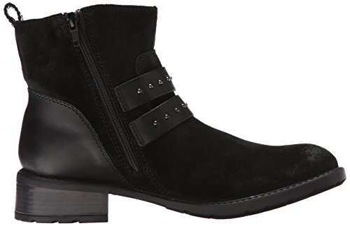 Grove Boot Suede Black Swansea Motorcycle Clarks fqxY55