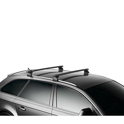 THULE 969200 Barres de toit WingBar 969B en aluminium - Noir Longueur 127 cm best