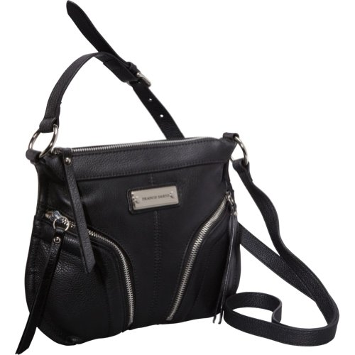 Franco Sarto Clara Cross Body,Black,One Size, Bags Central