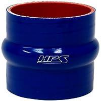 """HPS htshc-800-l6-blue alta temperatura de silicona 6capas de reforzado recta Hump acoplador Manguera, 20PSI presión máxima, 15.2cm de longitud, 8"""" ID, azul"""