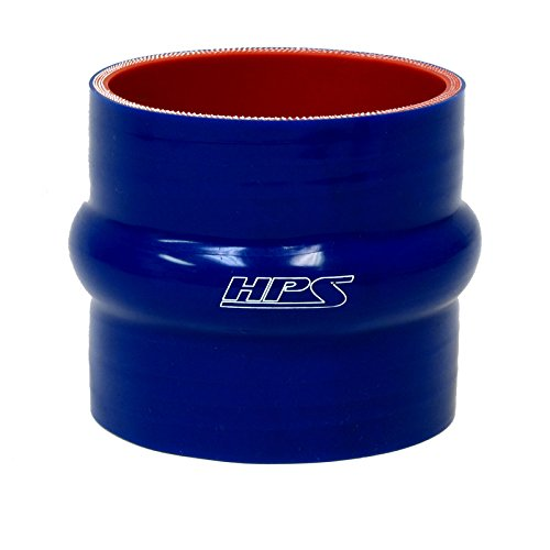 - HPS HTSHC-600-L6-BLUE Silicone High Temperature 6-ply Reinforced Straight Hump Coupler Hose, 20 PSI Maximum Pressure, 6