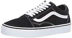 Vans Old Skool Black/White VN000D3HY28 Mens 4.5, Womens 6