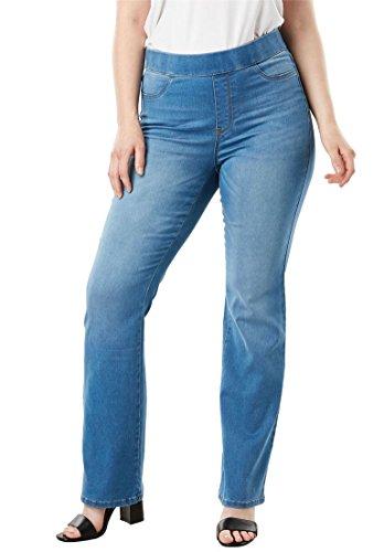Women's Plus Size The No-Gap Slim Bootcut ()