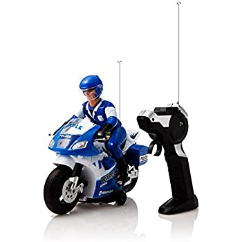 Amazon Com White And Blue Speed Demon Electric Radio