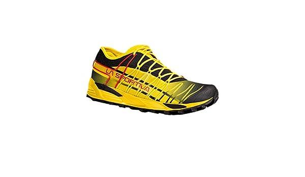 La Sportiva Mutant - Deportivos de Running para Hombre, Color Negro/Amarillo, Talla 44.5: Amazon.es: Deportes y aire libre