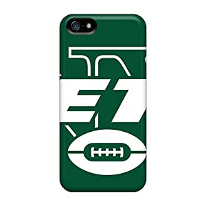 DannyLCHEUNG Iphone 5/5s Protector Cell-phone Hard Covers Custom Fashion New York Jets Series [ZHA13096ZQKS]