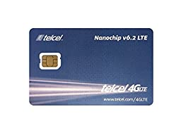 Telcel Mexico Prepaid SIM Card with 2GB Data (LTE Nano)
