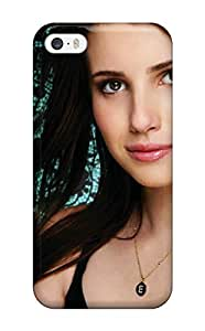 New Diy Diushoujuan Design Emma Roberts Wide High Quality For ipod touch5 Cases Comfortable For Lovers And Friends For Christmas Gifts