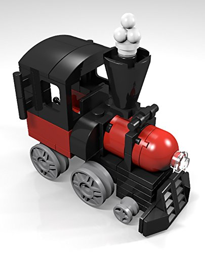 Amazon Constructibles Train Engine Mini Model Lego Parts