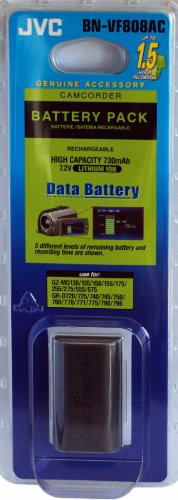 BNVF%2D808 Data Battery Pack for GZ%2DMG Camcorders by JVC