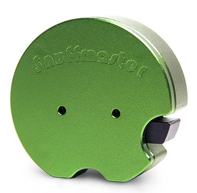 SNUFFMASTER Sniffer Snuff machine GREEN for nasal snuff