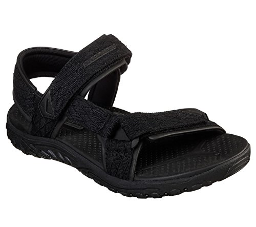 Skechers Mens Relaxed Fit Reggae Tulo Black 10 D - Medium by Skechers