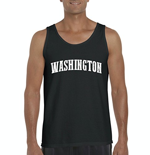 Ugo WA Seattle Map Cougars Redhawks Huskies Home University of Washington Men's Tank - Seattle Village University Map