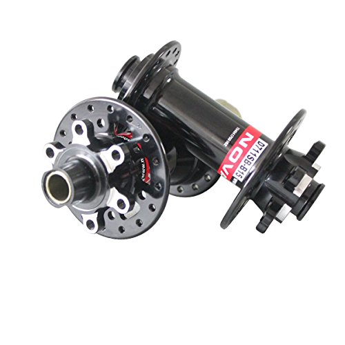 32 Hole Hub Cassette Body - ICAN Mountain Bike Boost Novatec Hub for Thru Axle 32 Holes D712SB-B12/D711SB-B15 Shimano 10/11 Speeds Cassette Body