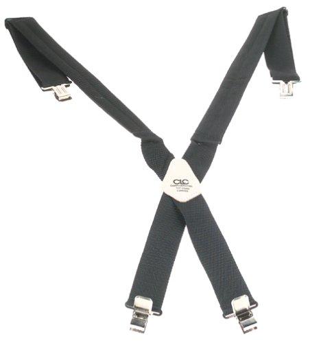 Custom Leathercraft 5122 Padded Construction Suspenders