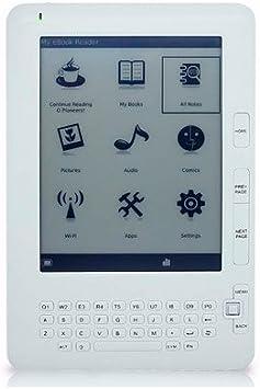 Gemini eReader D09 lectore de e-Book Pantalla táctil 4 GB WiFi Blanco: Amazon.es: Electrónica