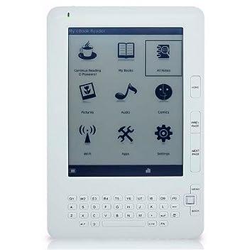 Gemini eReader D09 lectore de e-Book Pantalla táctil 4 GB WiFi ...