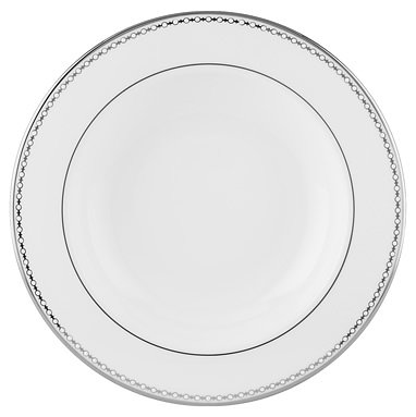 Lenox Pearl Platinum Bone China Pasta Bowl/Rim -