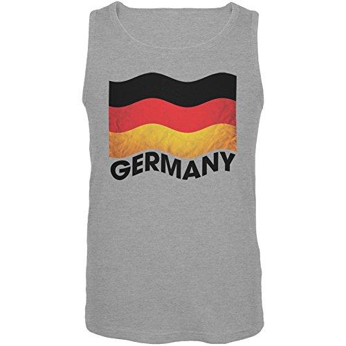UPC 882512994981, Germany German Waving Flag Sport Grey Tank Top