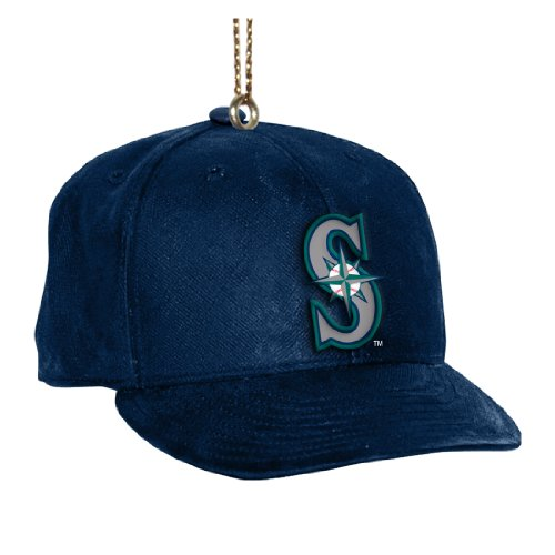MLB Seattle Mariners Baseball Cap Ornament (Mariners Hanging Seattle)