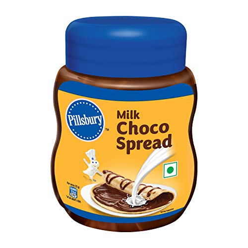 Pillsbury Milk Choco Spread   No Artificial Preservative  Tasty & Chocolaty   Top it on Cookies, Chocolate Smoothies…