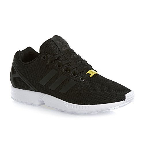 black Noir black Baskets Adidas Mode Femme Originals white Zx Flux q6YYv8Px