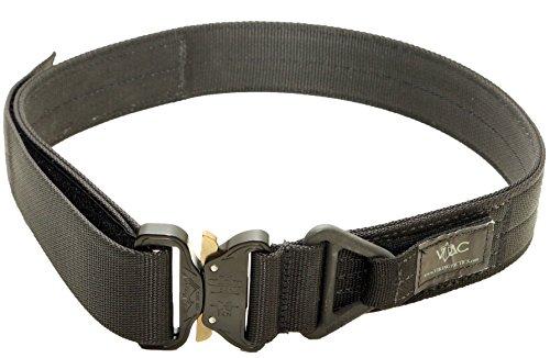 Extra Pistol Large (VTAC Cobra Riggers Belt With Triangular D-Ring (Black, (XXL) Extra Extra Large))