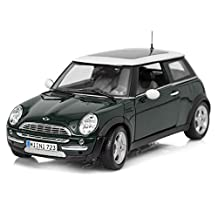 Mini Cooper With Sun Roof Special Edition Diecast 1:18 Scale Kids Play Toy Car