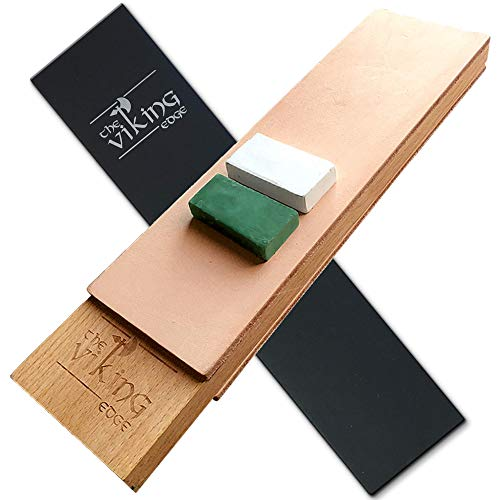 The Viking Edge Leather Strop - Large Two-Sided 3