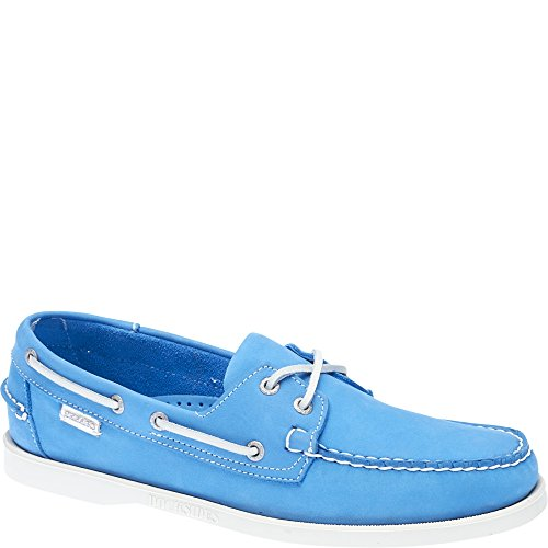 Sebago Docksides, Aqua Blue Nubuck, 70th. Edition B720241
