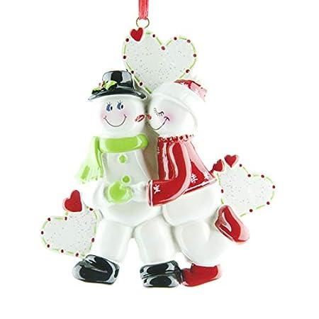 Paintings Frames Personalised Christmas Tree Ornaments - Snow ...