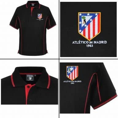 Atlético de Madrid Ultimate ventilador polo para hombre, bufanda y ...