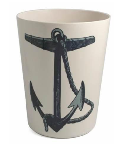 (Thomas Paul Bathroom Wastebasket Decorative Plastic Nautical Bathroom Decor Anchor)