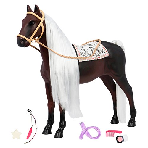 Our Generation Horse - Hair Play Glitter Rocky ()