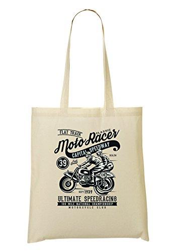 Moto Racer Classic Capital Speedway Ultimate Speedracing Bolso De Mano Bolsa De La Compra